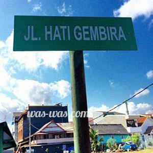 nama jalan lucu4