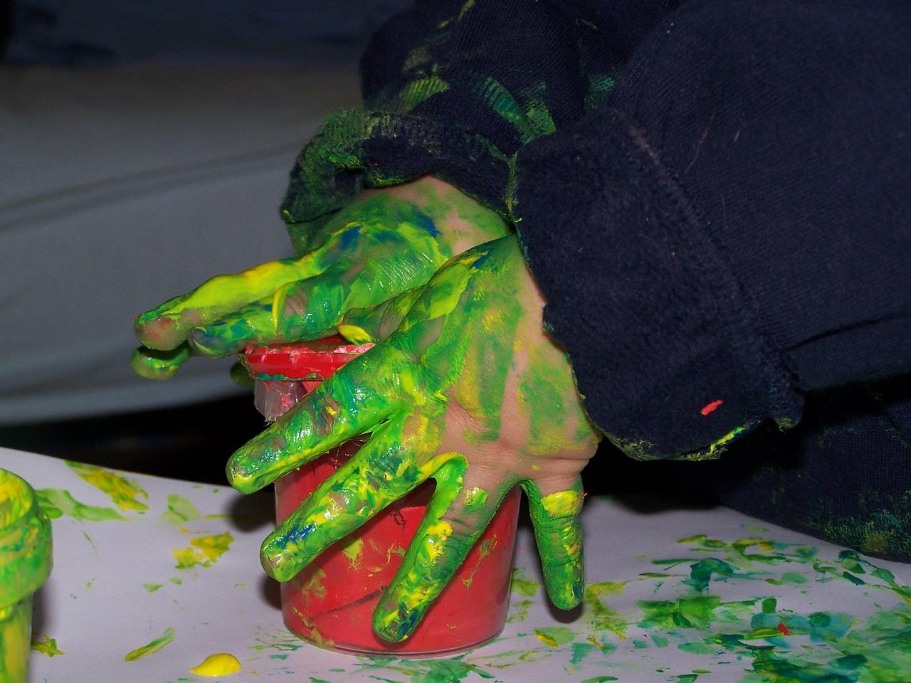 pentingnya finger painting