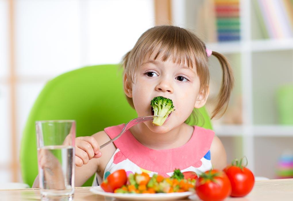 sayuran untuk balita