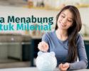 menabung milenial